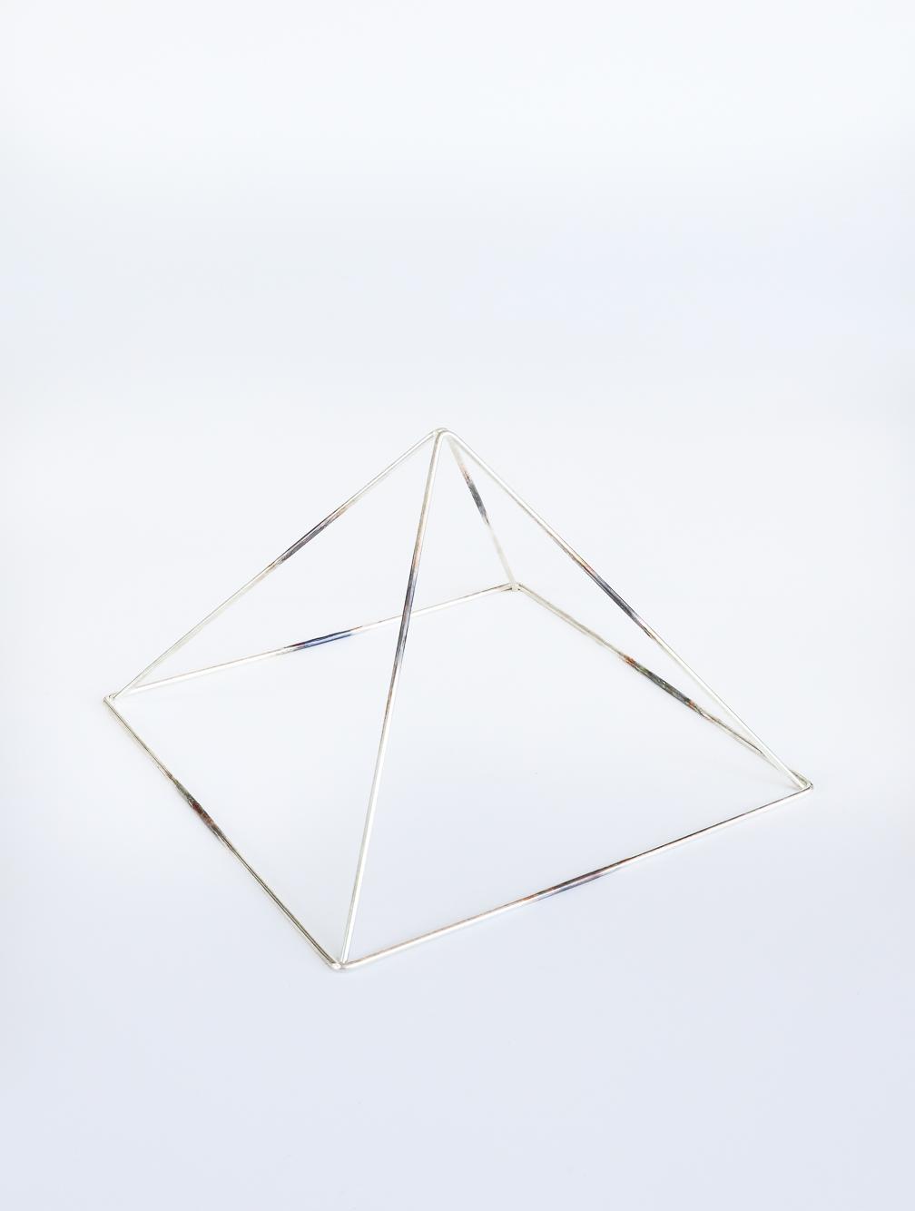 Headgear Pyramid Silver